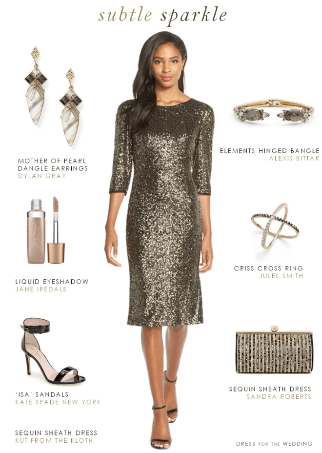 Long Sleeve Sequin Cocktail Dress ... 3c1f05b5a