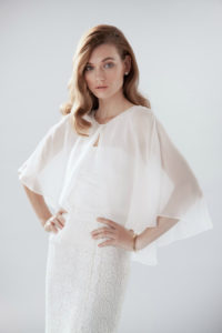 Wedding Dress of the Day : Nancy Cape and Jo Skirt by Aideux