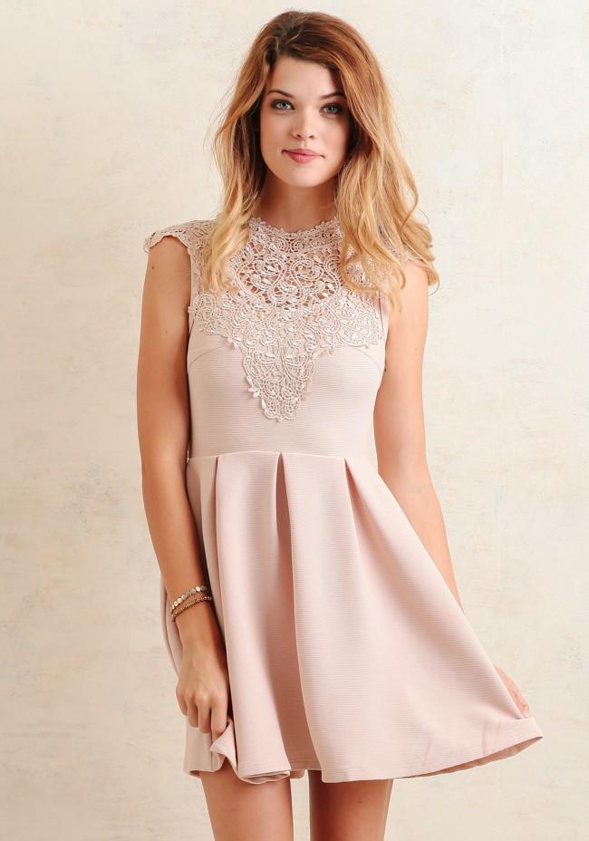 Pale pink dress under $60 | from ShopRuche