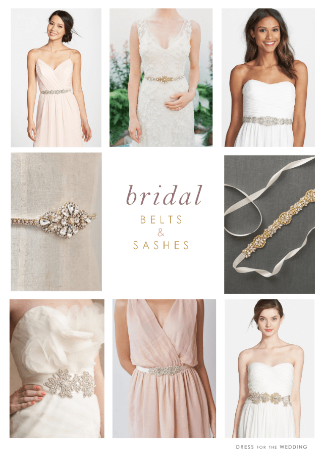 Where to find Pretty Bridal belts and Bridal Sashes