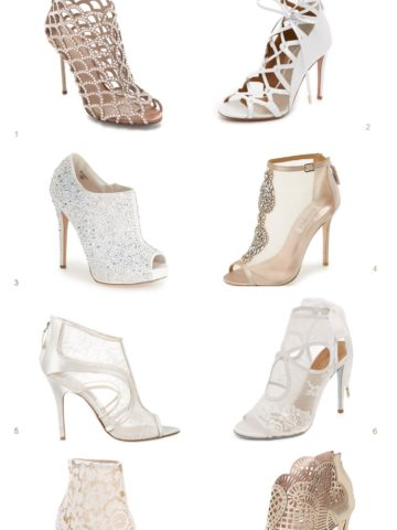 Booties for Weddings