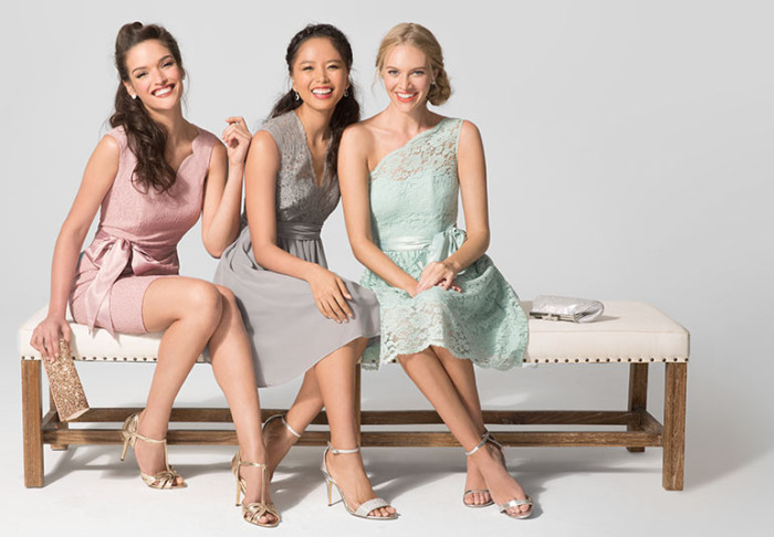 Bridesmaid styles for under $70 found at Target!