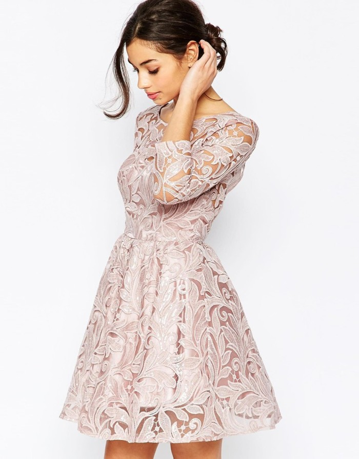 long sleeve lace dress for bridesmaids | ASOS