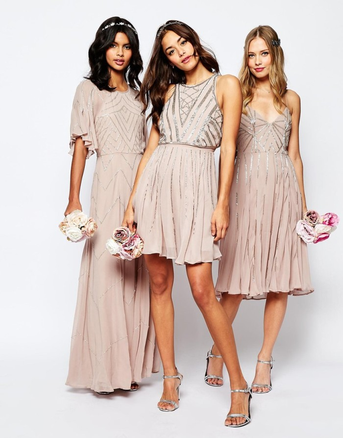 Affordable sequin bridesmaid dresses