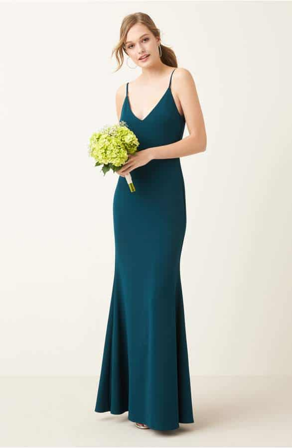 affordable slip dress for bridesmaids