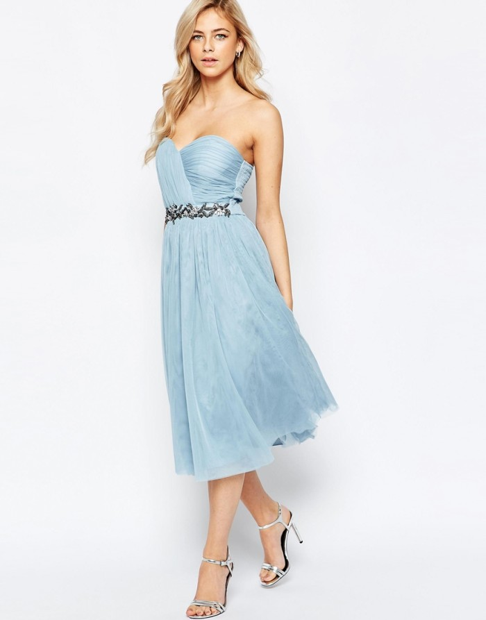 light blue bridesmaid dress under $150