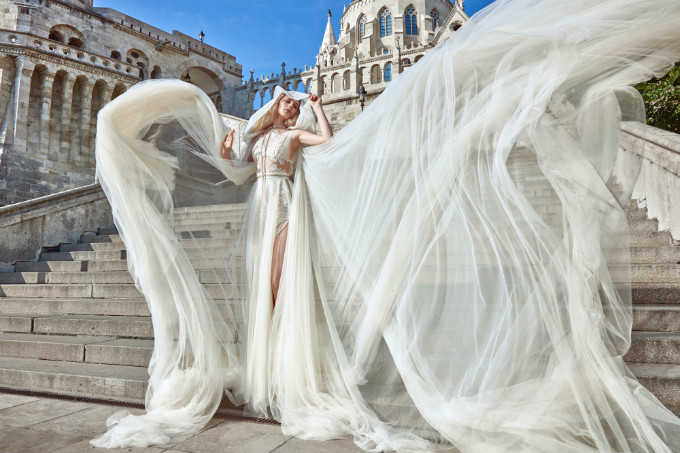 Galia Lahav Flavia with Elise Cape