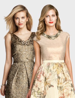 Pretty dresses by Teri Jon