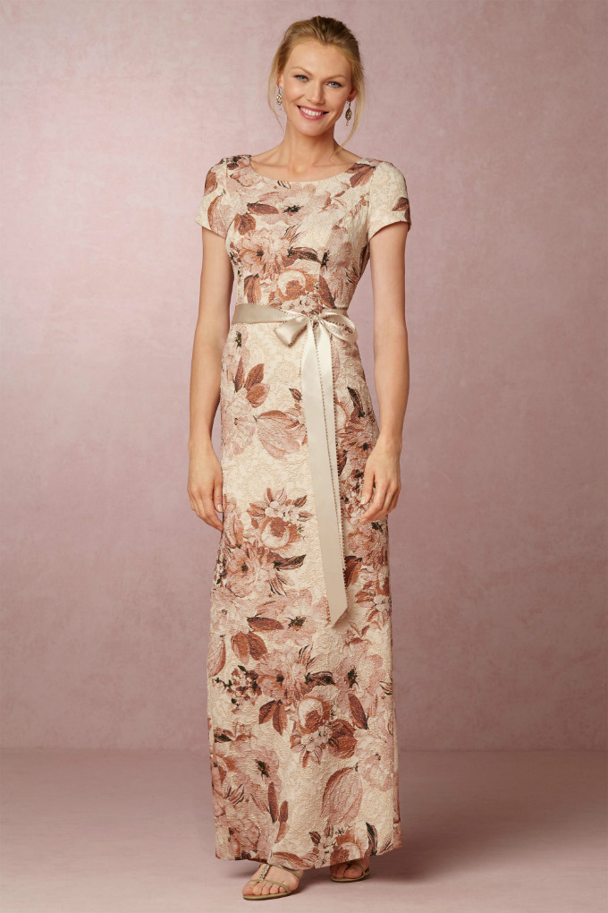 Floral Mother of the Bride Gown | Medina Dress from BHLDN