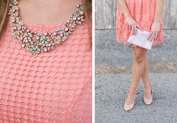 How to accessorize a daytime wedding oufit | Necklace from ModCloth | Brittney Kreider Photography