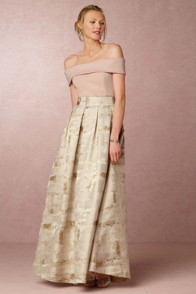 Separates for the Mother of the Bride | BHLDN Sophie Top and Skirt