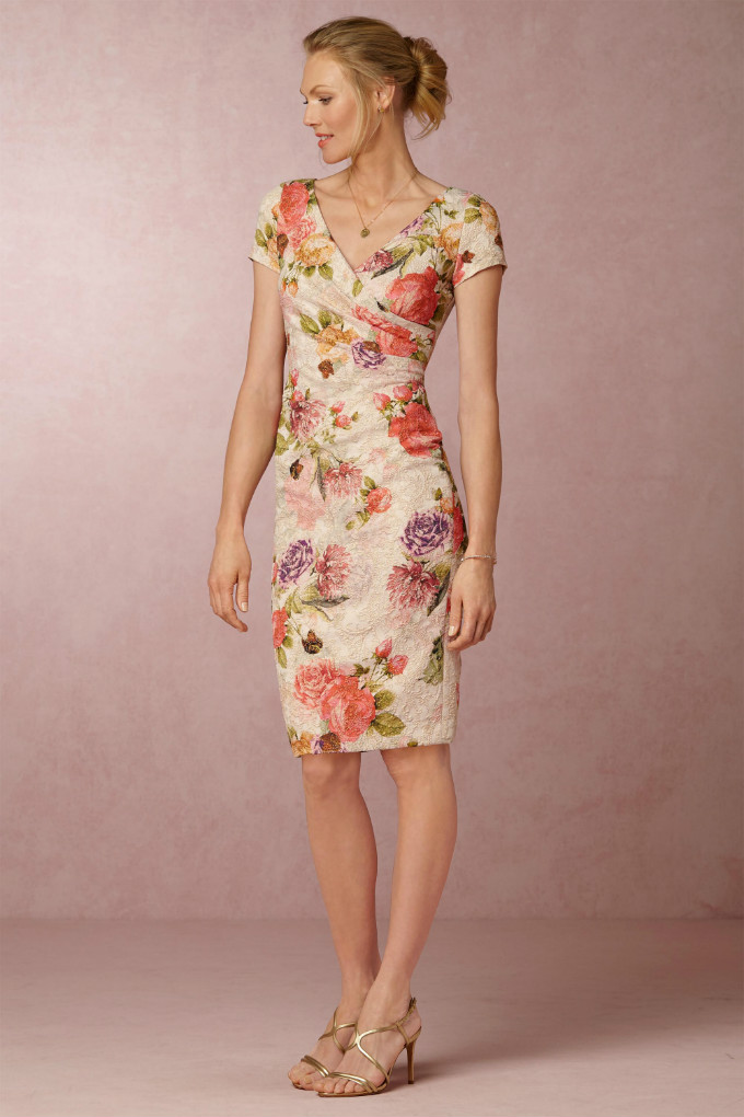 Short Floral Dress for Mother of the Bride | Coraline Dress from BHLDN
