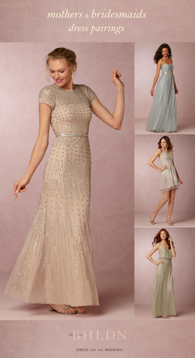New Spring and Summer Mother of the Bride Dresses from BHLDN | Dress ...