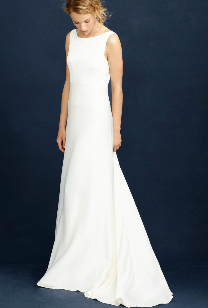 Simple wedding dress under 700 | Dress from J.Crew