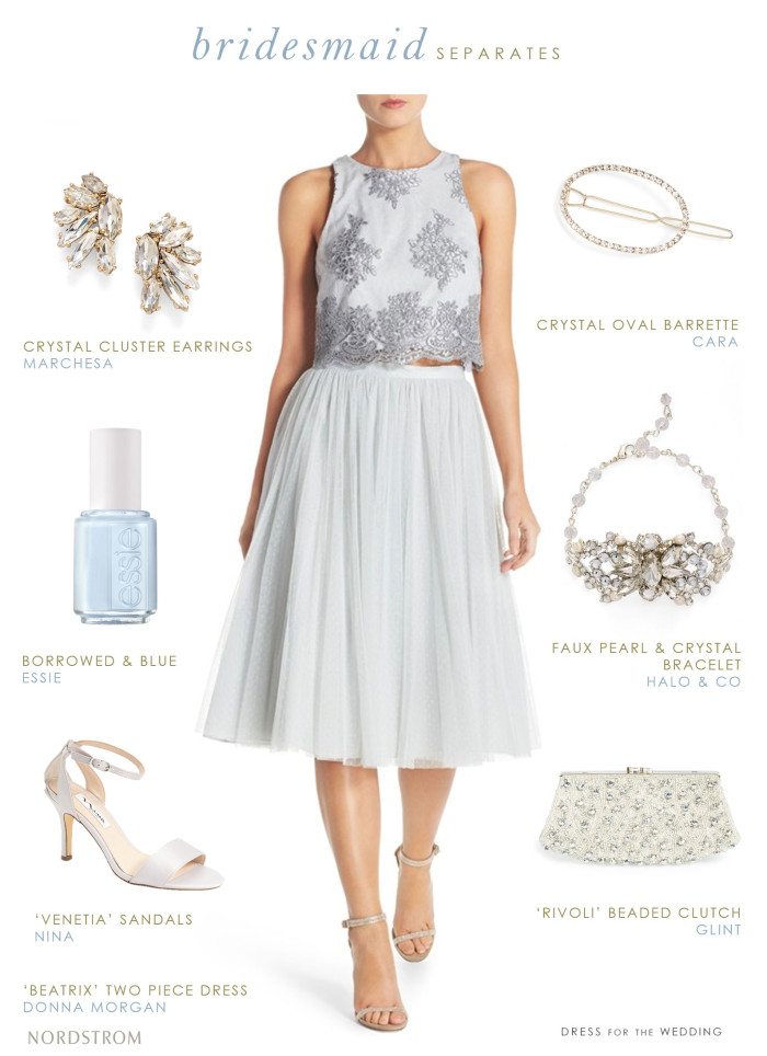 Bridesmaid top and skirt | Bridesmaid Separates from Nordstrom