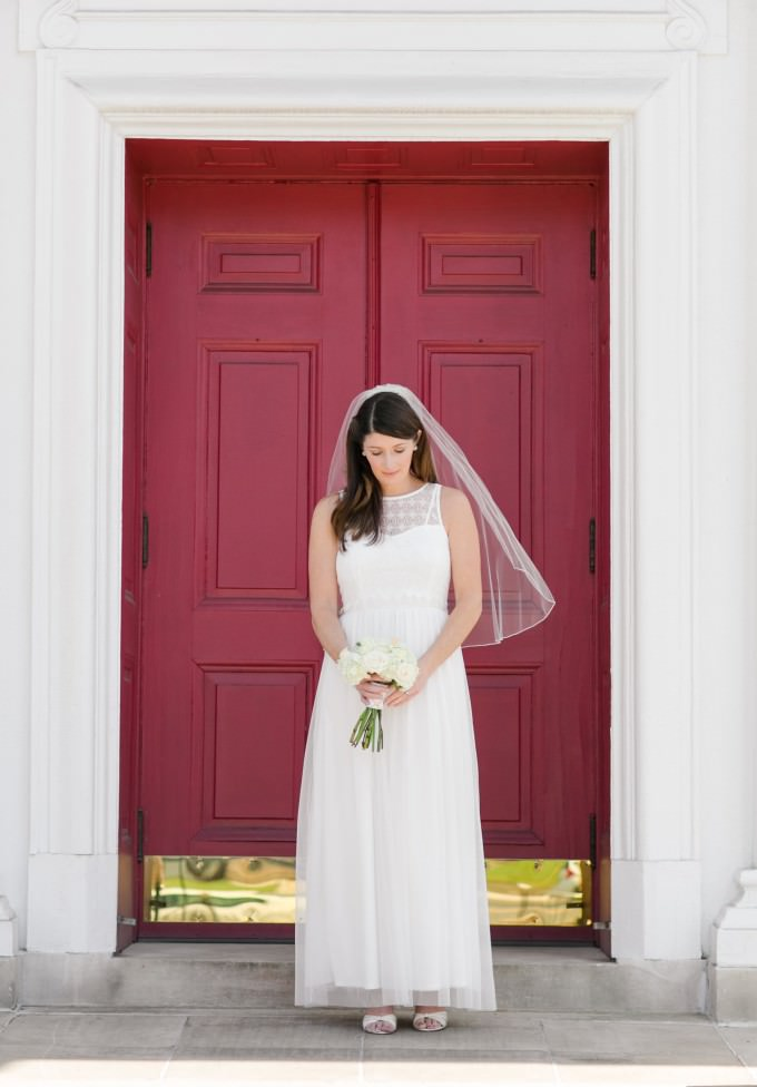 What are the new wedding dresses from ModCloth like to wear? We got to try 2 on!