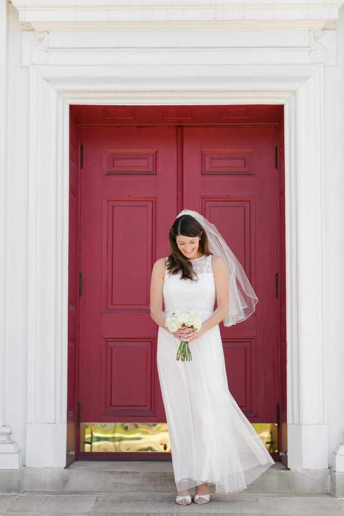 Affordable wedding dress from ModCloth