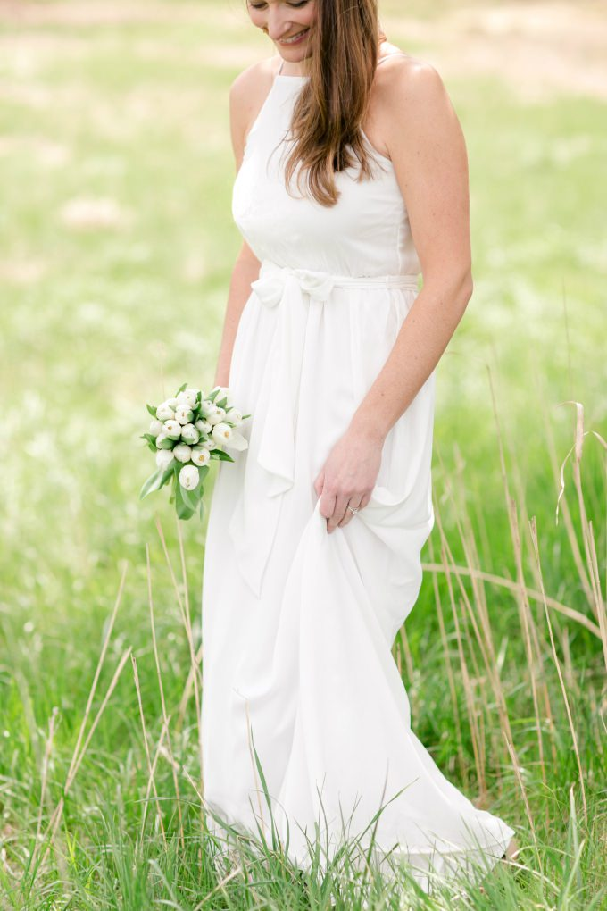 Wedding dress for a destination wedding | ModCloth wedding collection | Photo by Brittney Kreider