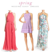 What to Wear to a Spring Wedding