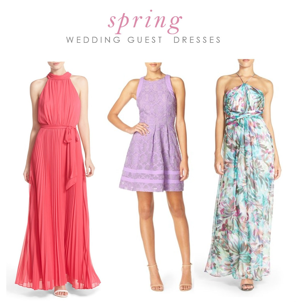 What to wear to a spring wedding dress for the wedding for Dresses for spring wedding