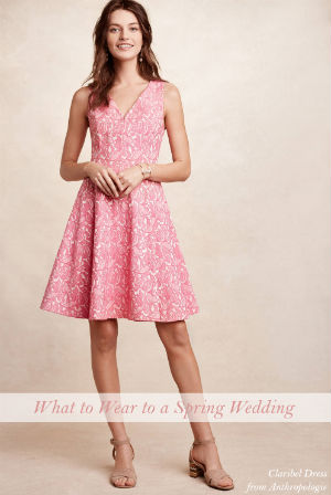 Guest dresses for spring