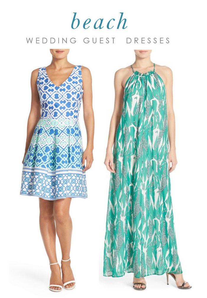 Beach wedding guest dresses what to wear to a beach wedding for Dresses to wear to weddings as a guest