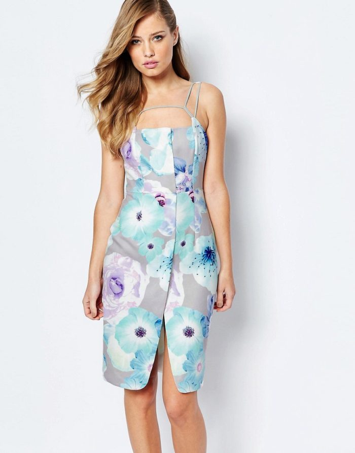 Wedding guest dresses for spring weddings for Pastel dresses for wedding guests