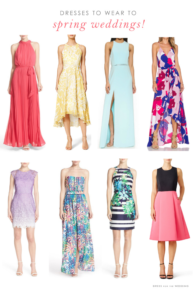 Wedding guest dresses for spring weddings for Dresses to wear to weddings as a guest