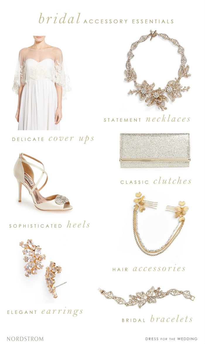 Where to find bridal accessories |Nordstrom Wedding