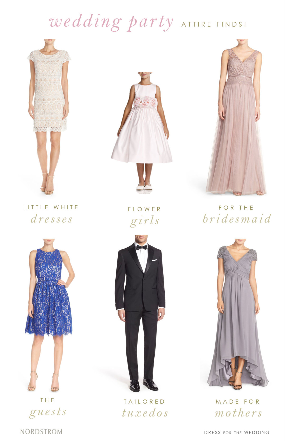 Where to find pretty wedding attire | Nordstrom Weddings