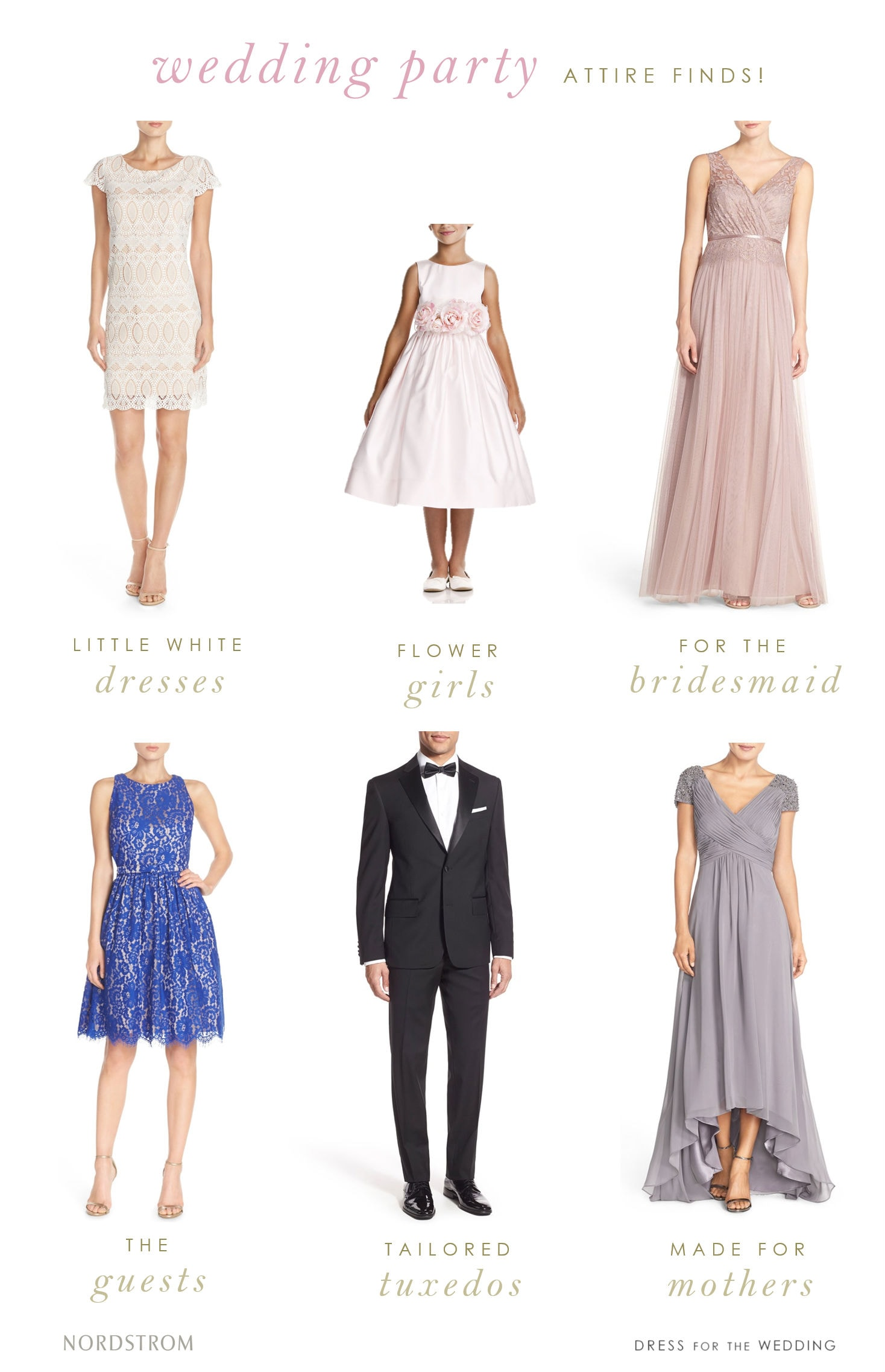 Where to find pretty wedding attire | Nordstrom Weddings