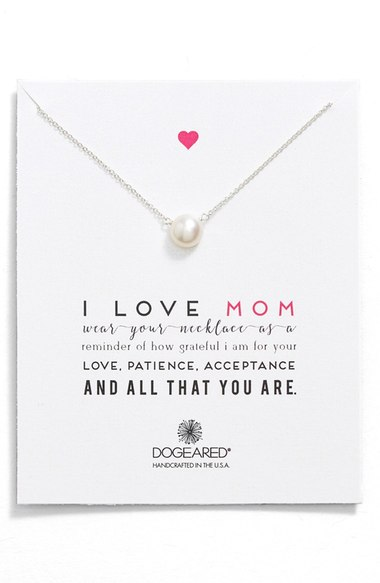 I Love Mom Necklace | Mother of the Bride Gifts