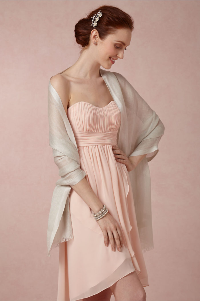 Wrap for the mother of the bride | BHLDN
