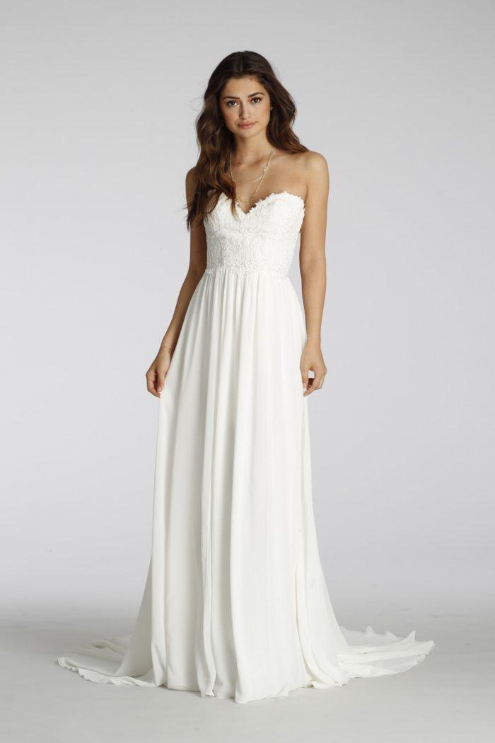 Strapless sweetheart wedding dress | Style 7657 Ti Adora Fall 2016