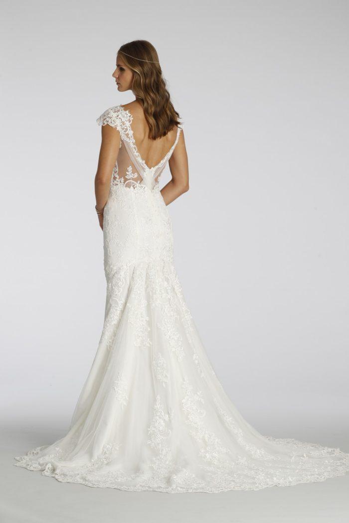 Back detail Style 7658  Ti Adora Wedding Dresses Fall 2016
