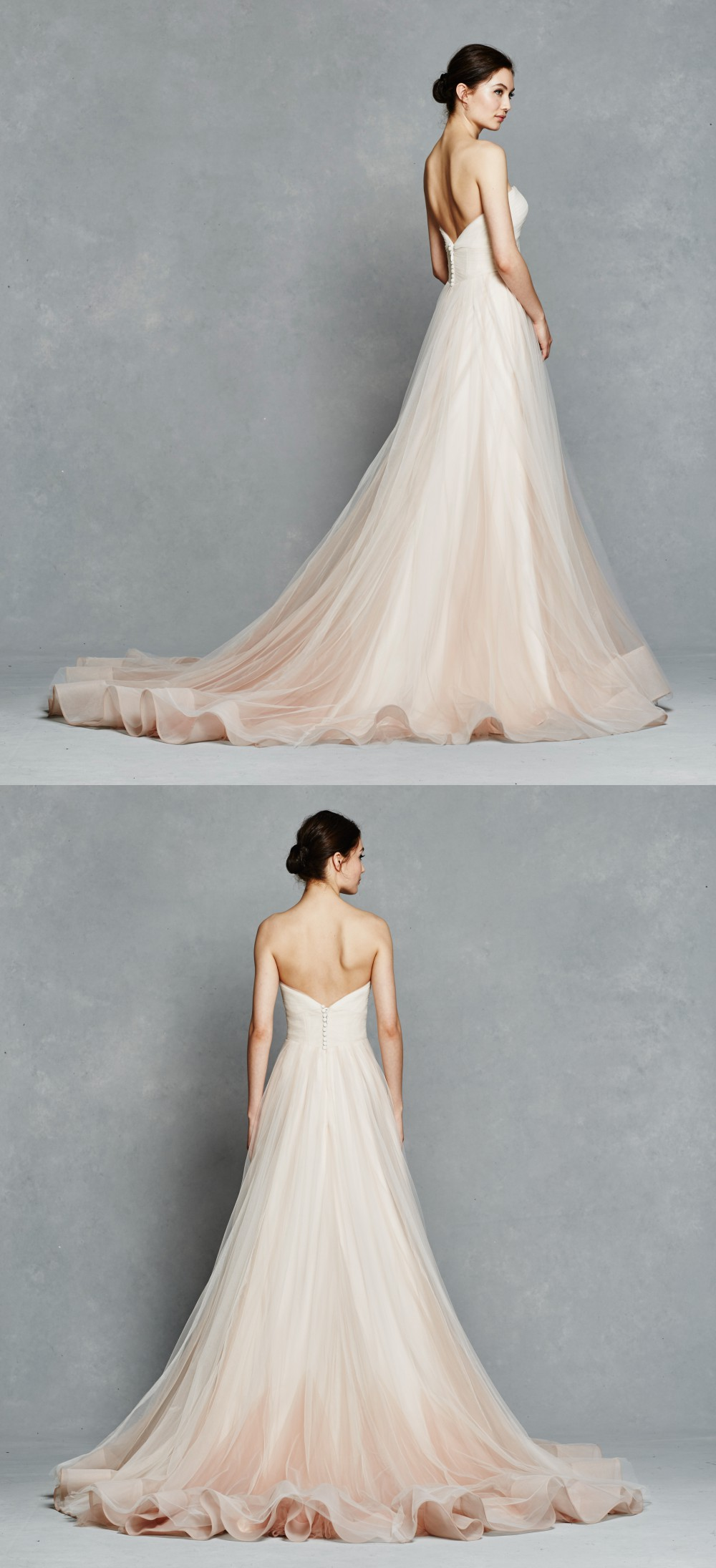 Blush wedding dress | Florence by Kelly Faetanini