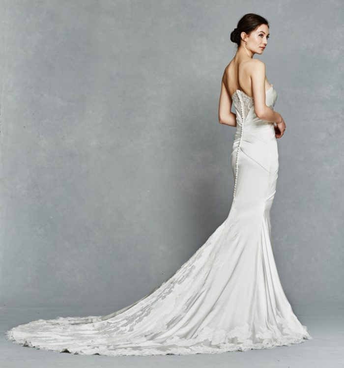Lace back detail Inez by Kelly Faetanini