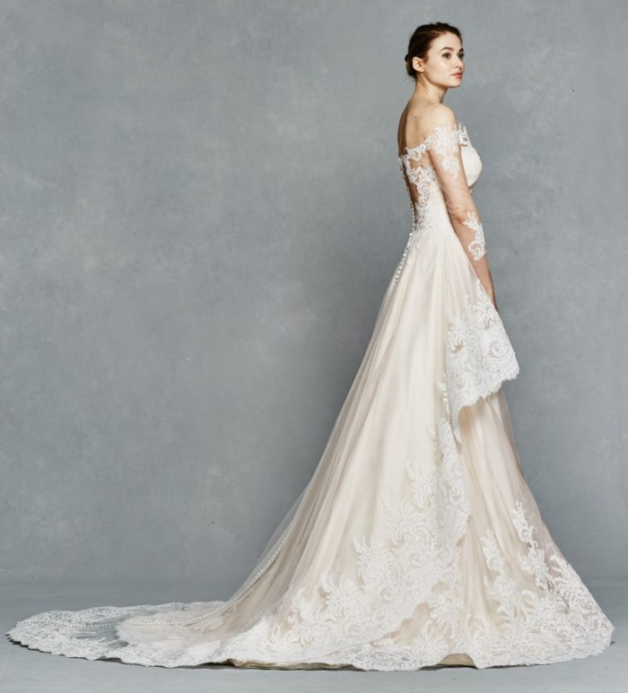Romantic wedding dress |Nora by Kelly Faetanini