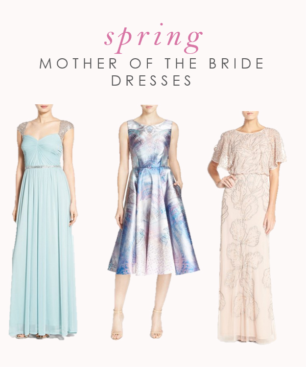MOB dresses for spring weddings