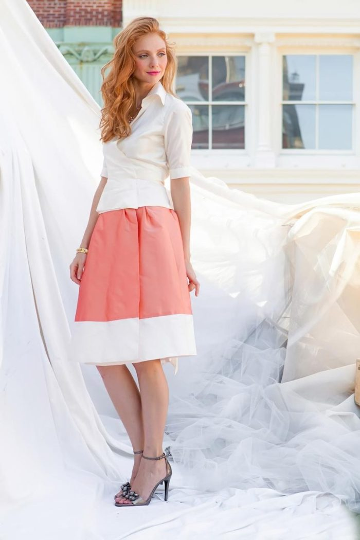 Bold striped skirt | Shabby Apple