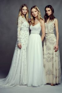 Bohemian Wedding Dresses from BHLDN