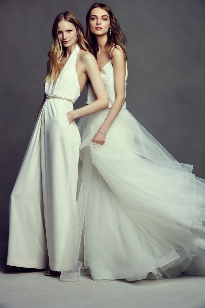 Bridal jumpsuit and separates