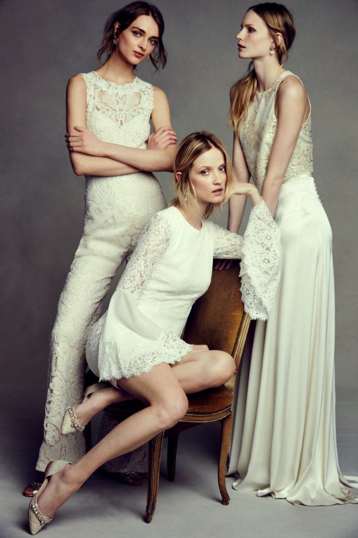 Bridal jumpsuits modern looks for any brides
