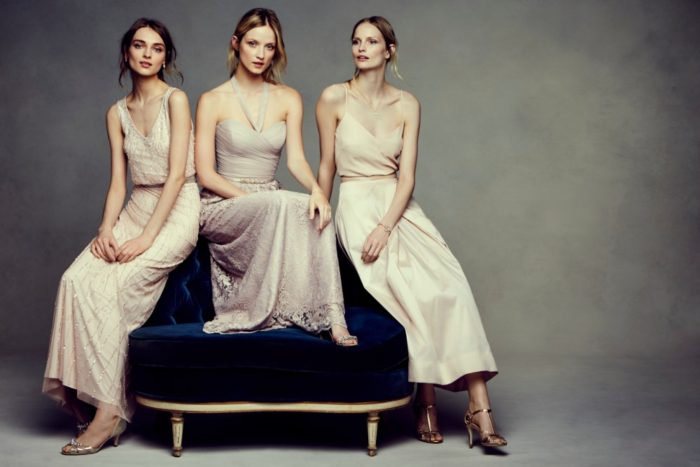 Modern bridesmaid dresses