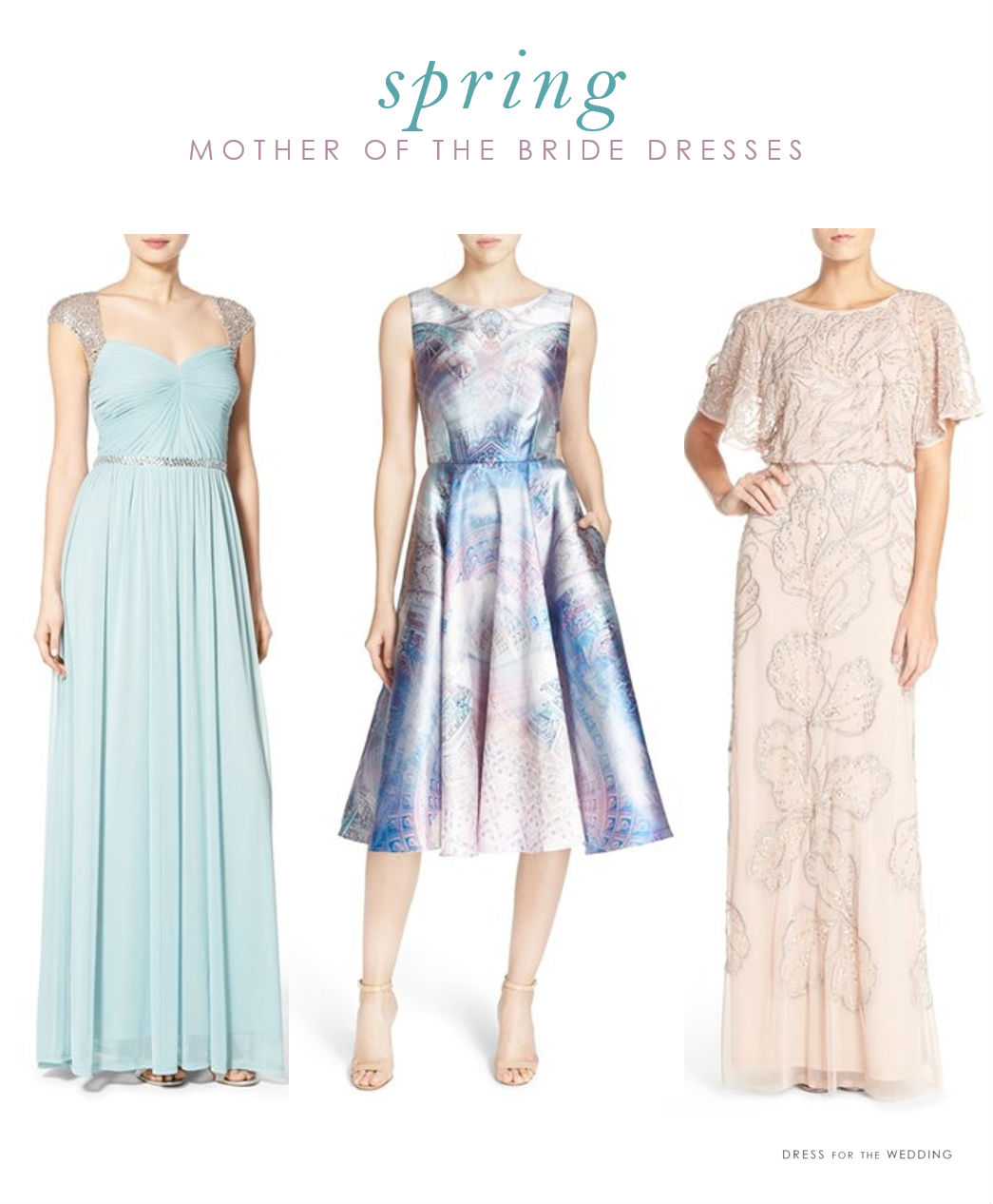 Spring mother of the bride dresses dress for the wedding for Wedding mother of the bride dresses