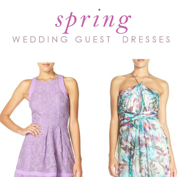 guest of wedding dresses for spring