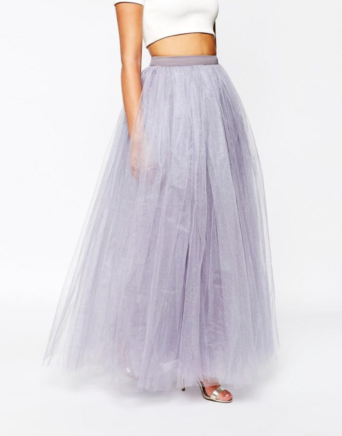Long tulle skirt for weddings | ASOS