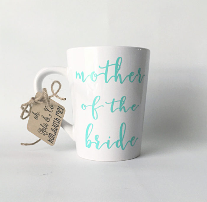MOB gift | Mother of the Bride Mug | By OhLOLAandco on Etsy