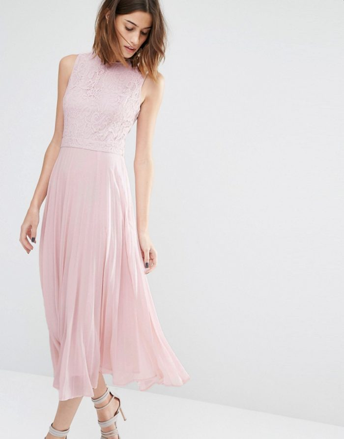 Pink Lace Wedding Guest Dress : Wedding guest dresses for june and july weddings