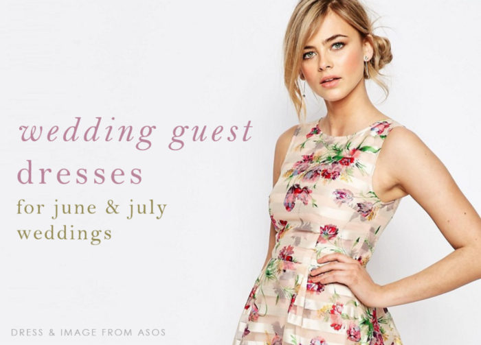Wedding guest dresses for 2016 June and July Weddings